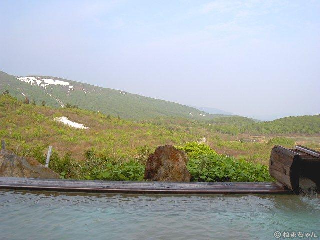 「栗駒山荘」露天風呂