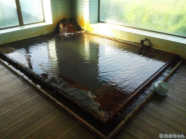 「静観荘」内風呂