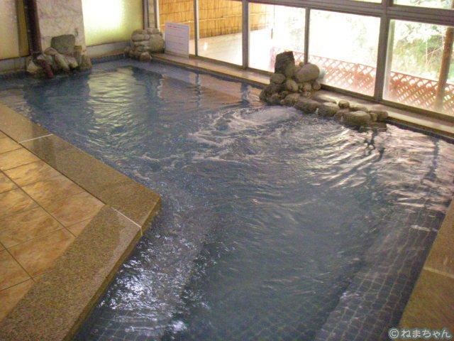 「鈍川温泉ホテル」内風呂