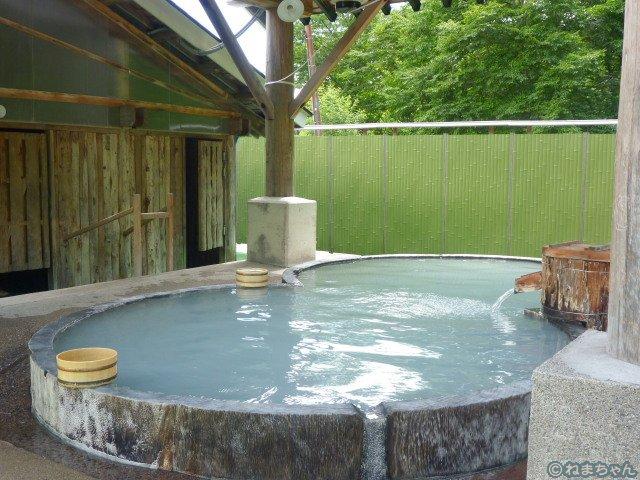 「水戸屋旅館」混浴露天風呂