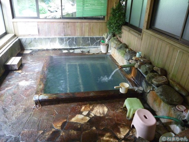 「中の湯旅館」女湯