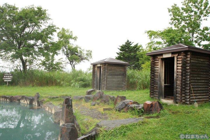 「池の湯」脱衣所