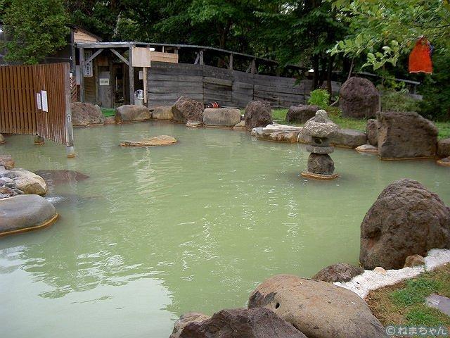 「ニセコグランドホテル」露天風呂