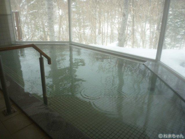 「糠平舘観光ホテル」内風呂