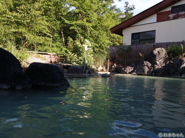 松川荘露天風呂