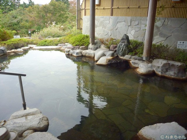 「ホテルグリーンプラザ箱根」富士見の湯2