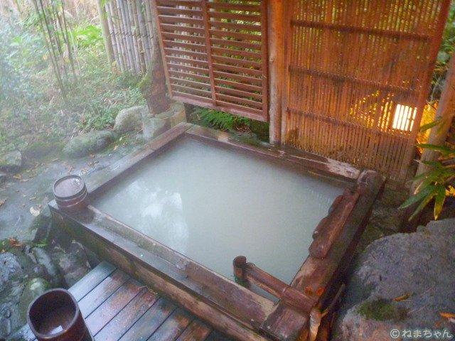 「伊藤山荘」露天風呂