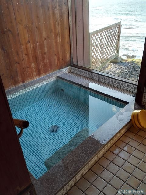 「空と海」内風呂