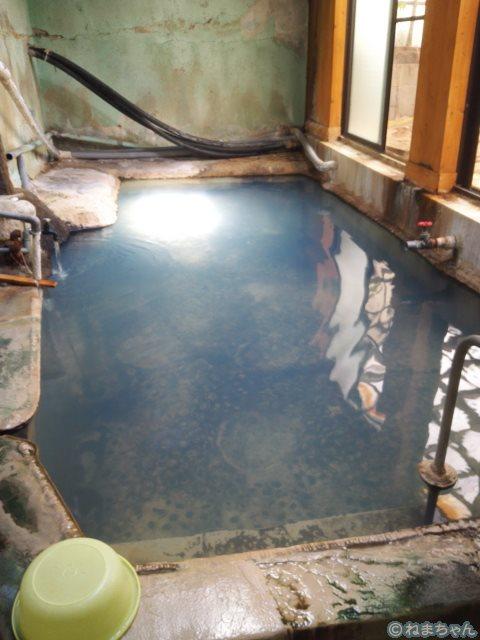 「高友旅館」プール風呂