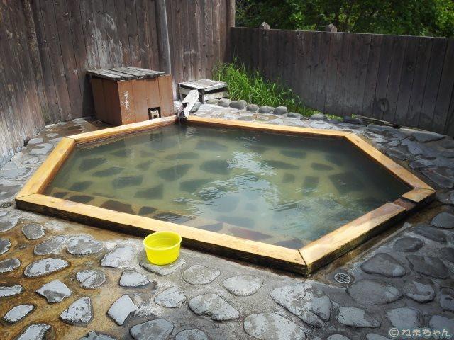 「琢ひで」露天風呂芍薬の湯