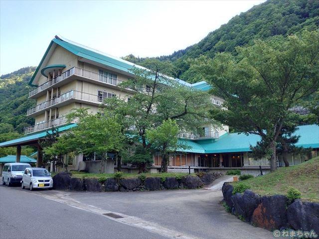 「ホテル国富翠泉閣」外観