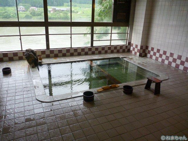 「碧水荘」内風呂