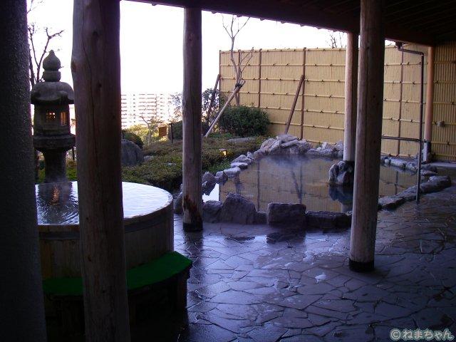 「杉乃井ホテル」露天風呂