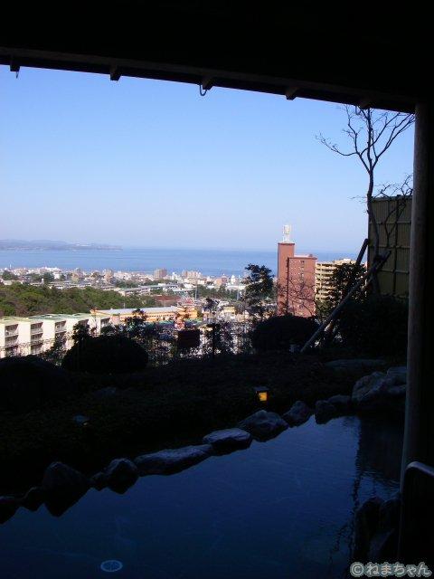 「杉乃井ホテル」眺望