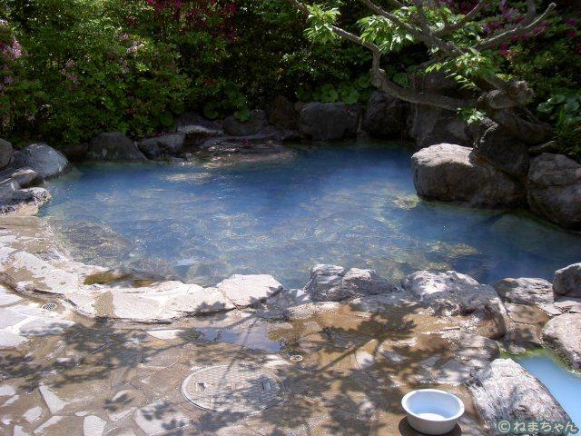 「神和苑」露天風呂
