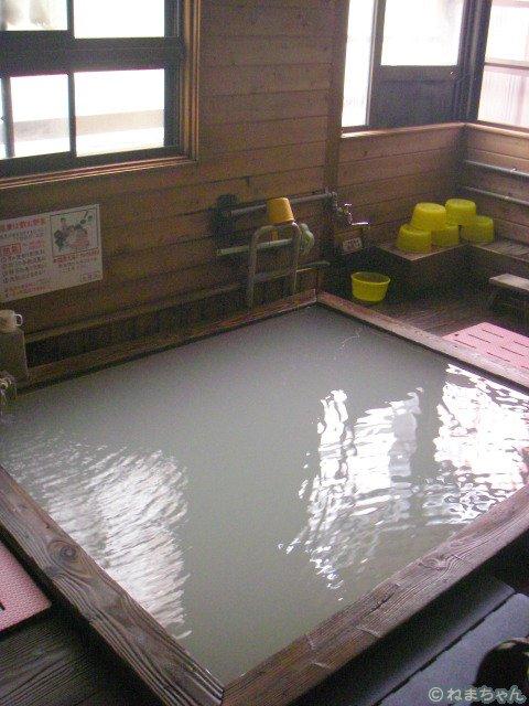 「白樺」内風呂2