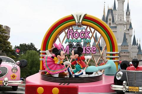 東京ディズニーランド:ロック・アラウンド・ザ・マウスモニュメント
